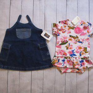 Girls summer dresses 12 months